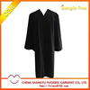 US Style Graduation Bachelor Fluting Gown