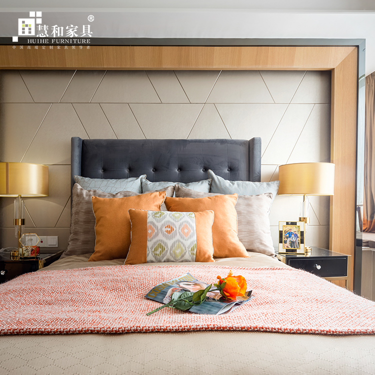 Custom New Style Bedroom Design Furniture Latest Modern
