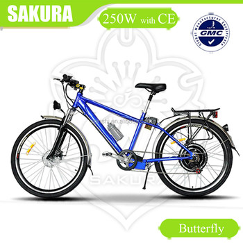 Butterfly 36v 250w high power mountain ebike