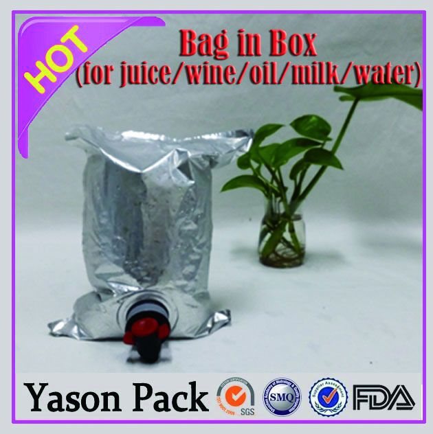 YASONPACK chilled product 5l wine bag in box