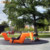 Fiberglass BOA outdoor street road resting bench