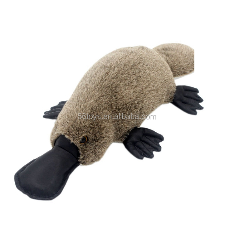 "18""Kids' Gifts Pillow Animals Toys soft platypus plush toy"