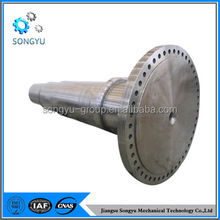 Fixed coupling for spline shaft for gearbox