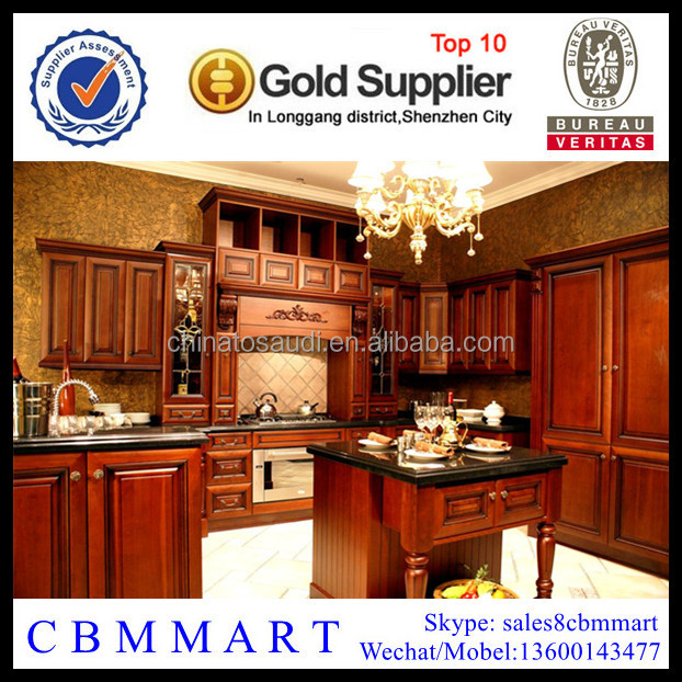Solid maple wood kitchen cabinet kithcen furniture for Cherry wood kitchen cabinets price