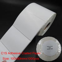 100x80mm C1S adhesive coated packaging paper
