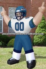 nfl inflatable player lawn figure for playing game