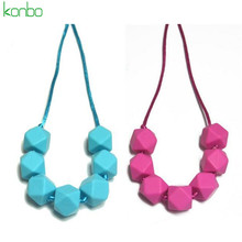 Silicone latest design beads necklace