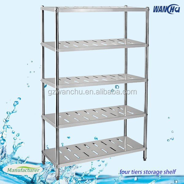 Restaurant Kitchen Size kitchen shelving/5 layers farge size restaurant kitchen stainless