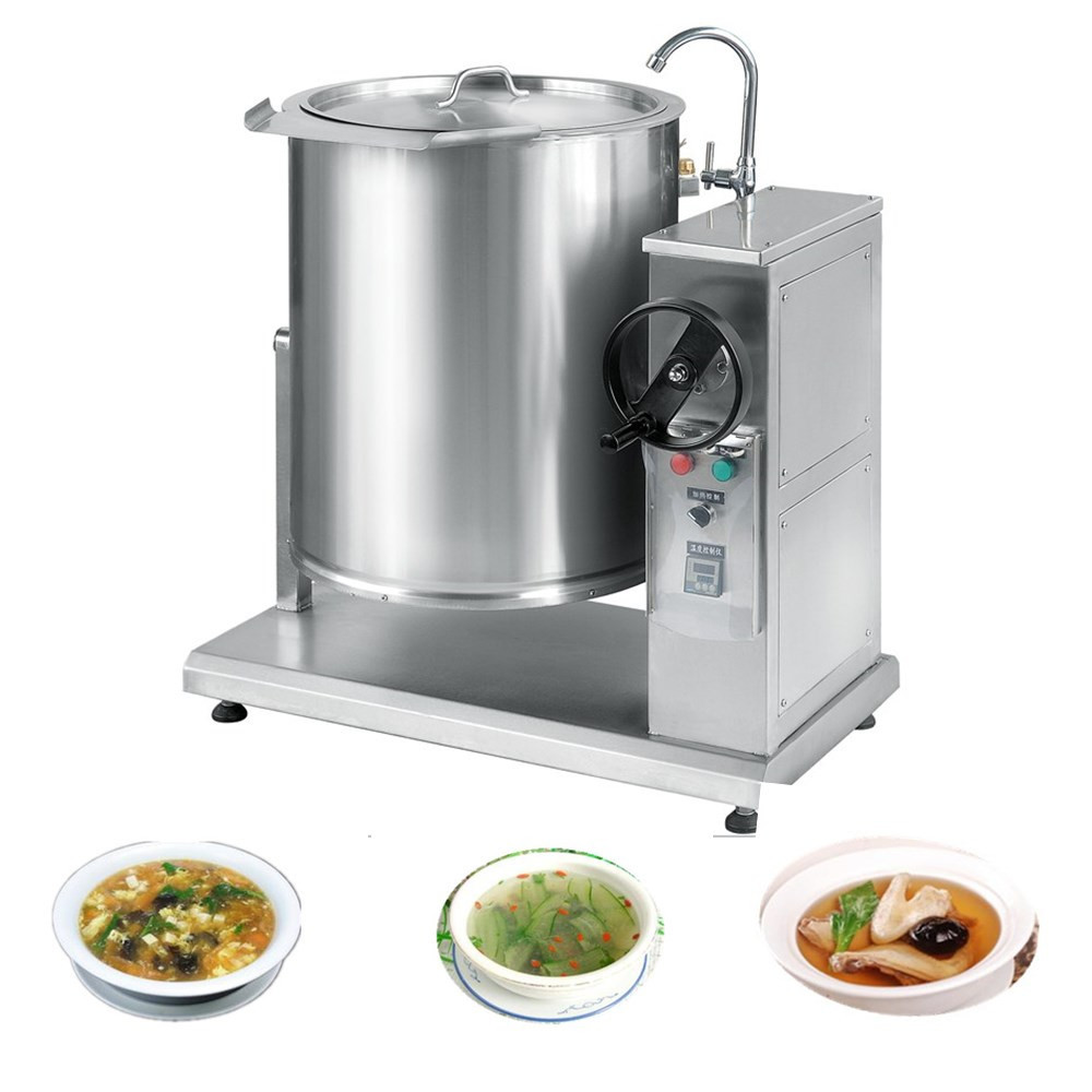 XYDG-H100 Electric commercial soup/oil cooking kettle/pot