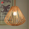 Murano Modern Timber Pendant Lamp Diamond