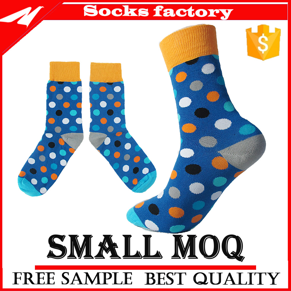 Wholesale Fashion Mens Dress Cotton High Quality Knitted Socks