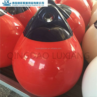 luxiang brand NO.1 PVC marine plastic water floating buoy