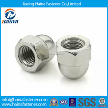 High quality carbon steel zinc plated domed head cap nut