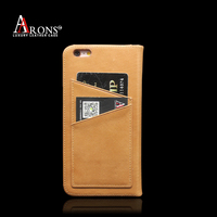 Premium Design folio opening leather fall over the phone case for iphone6