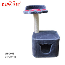 Alibaba Supplier popular cat favorite wooden cat tree toy dog house