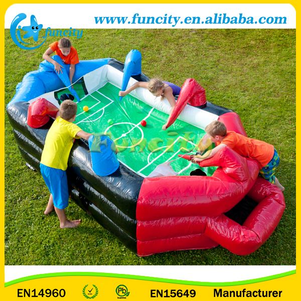 Removable Inflatable Air Table Football Games For Kids