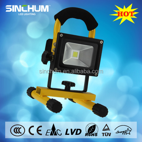 Outdoor use waterproof 20w portable military led flood lights