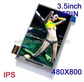 HD IPS all View angle 3.5 inch TFT display module
