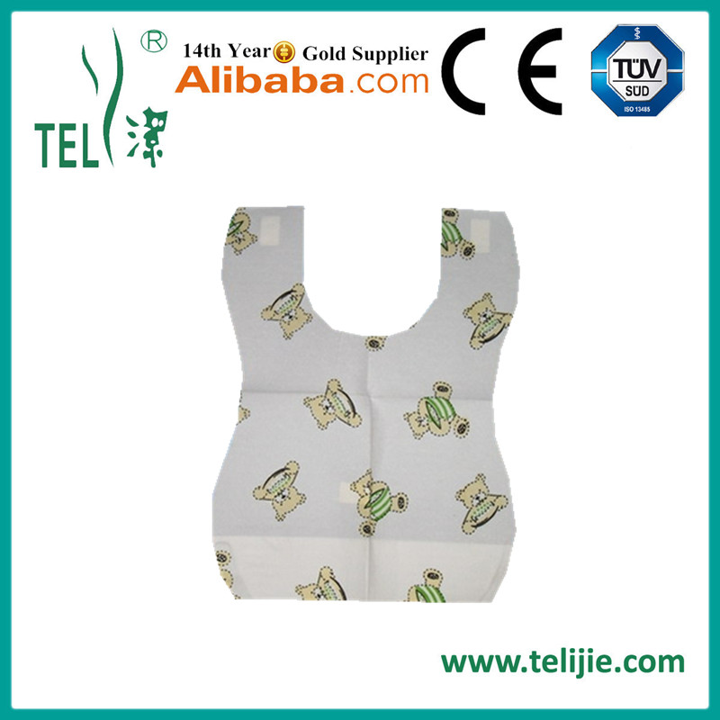 2017 trending products wholesale cute disposable bibs