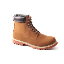 Hot selling lace up work safety light combat men brown winner polo boots