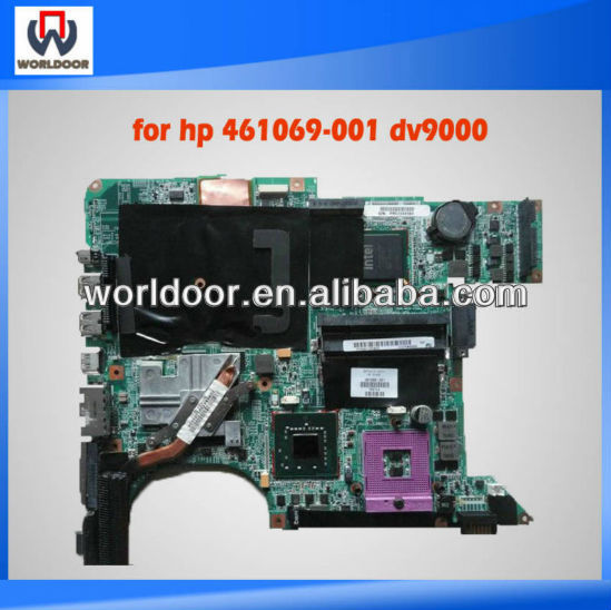 447983-001 for HP Pavilion dv9000 dv9500 laptop motherboard intel 965PM with Nvidia video chip Tested 50% shipping off