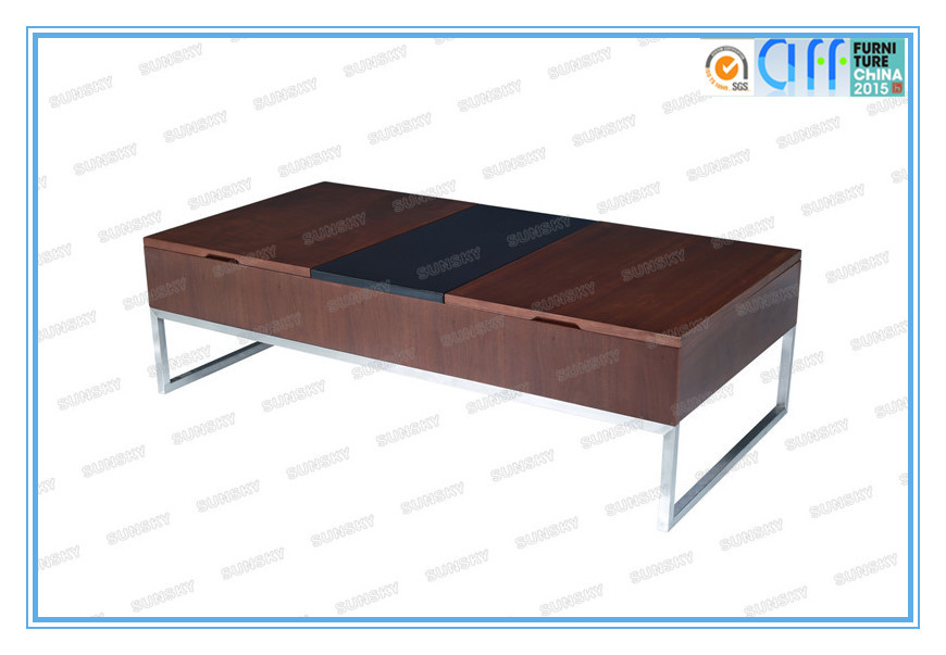 multifunctional wood lift up coffee table 1487A