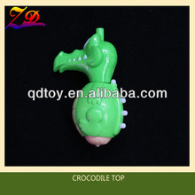crocodile super spin top toy
