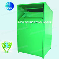 Steel Clothing Bin For Sale