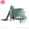 High Efficiency Peanut Sorter Cashew Almond Nuts Grading Machine