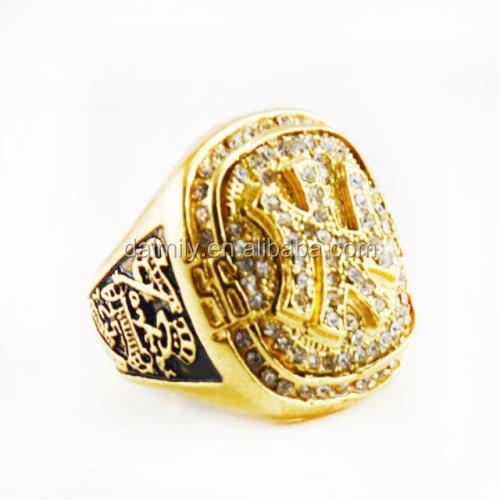 China made Jewelry Factory Professional personality Custom Ring Stainless Steel Sport JETER Ring