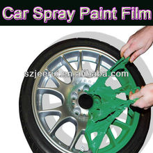Best plastidip Car Spray Paint Film/removable rubber coating spray gallon paints/liquid peelable paint/gold silver black green
