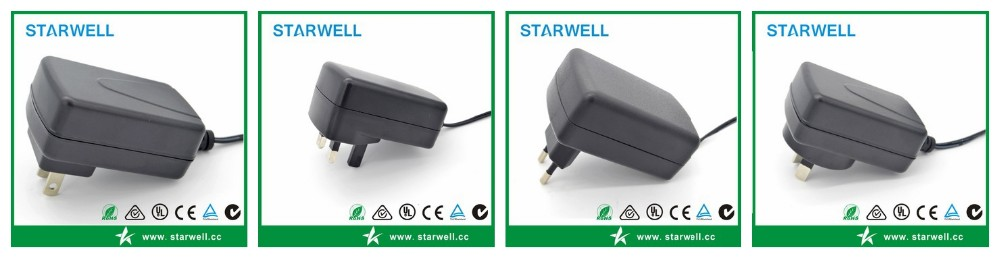 12w 15v 800ma ac power adapter for United States Market