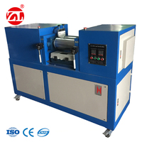 Lab 2 Roll Silicone Mixing Mill Equipment Manufacturer