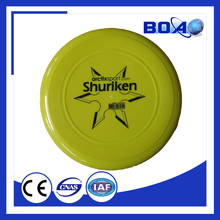 Best seller Ultimate Frisbee Customized Logo Printed PP dog Plastic Frisbee