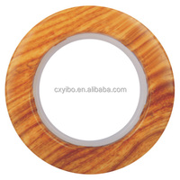 630-2 Yellow wood Luxury Plastic Curtain Eyelet Ring