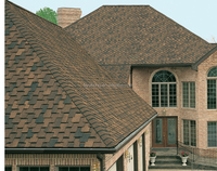 China asphalt roofing shingles / roof tile / bitumen shingles