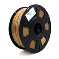 PLA Based Copper Filled Filament for 3D Printers and 3D Pens
