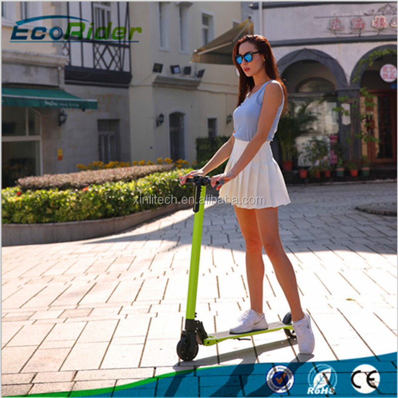 Lightest Foldable electric kick scooter hover board go cart
