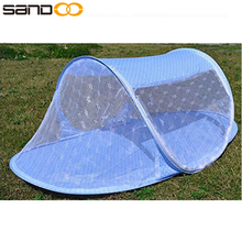 Folding Instant Pop Up Baby Mosquito Net Crib, Baby Beach Play Tent