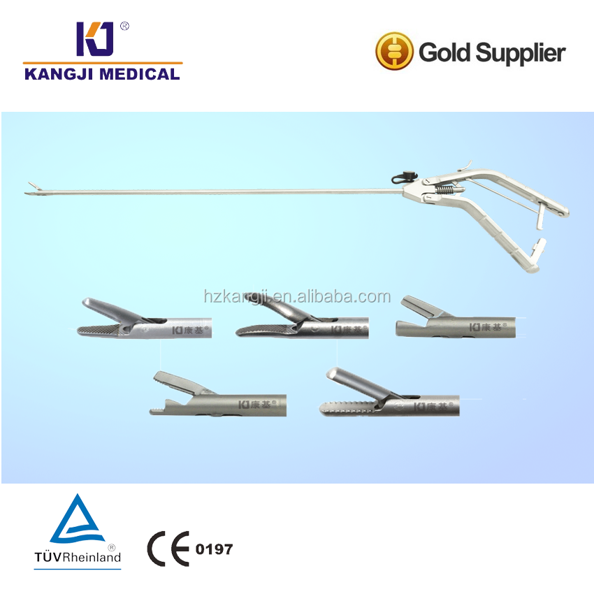 popularity light weight handle needle holder with curved, straight, selfrighting from China Hangzhou gold supplier