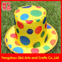Wholesale carnival festival top hat clown hat