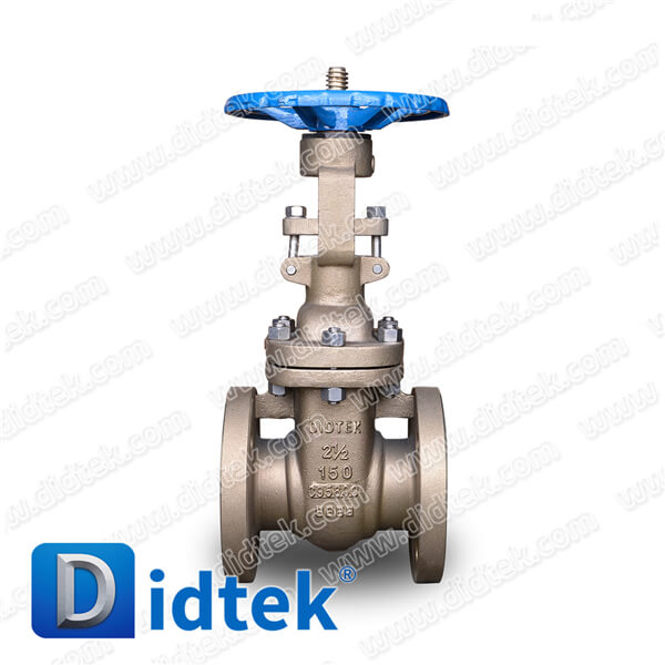 Didtek Full Open C95800 Aluminum Bronze Manual Gate Valve