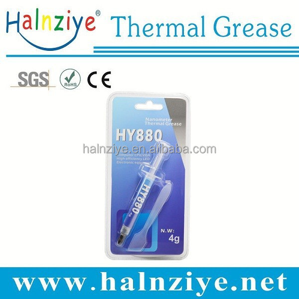 Summer Hot Sell Silicon Grey Thermal Paste/Grease/Compound with Good Electric Impendance in Computer Electronic Components