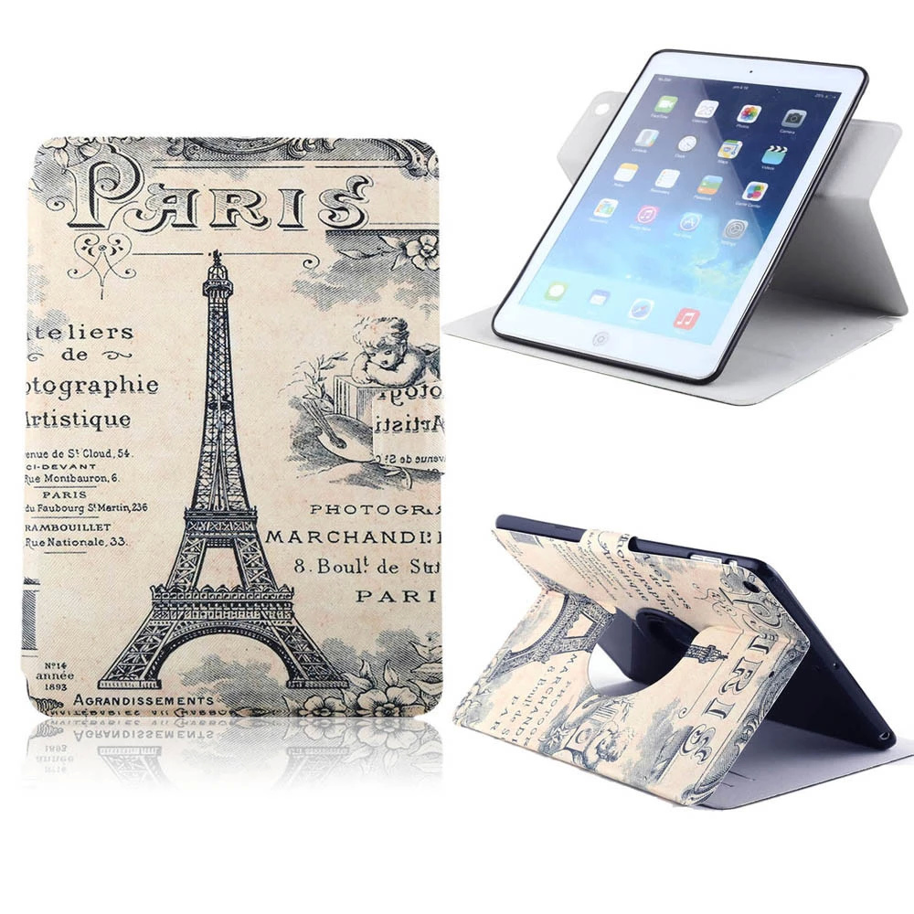 For Apple iPad 2/3/4 Beautiful Cute Print Flip PU Leather Wallet Case with Photo Frame Card Holder Stand fundas Phone Cover