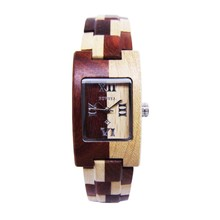 New Design Retro Watch Stock Handmade Wood Watch Fashion Ladies Bracelet Watches Wholesale Price 2014