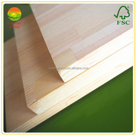 finger joint laminated red pine wood furniture boards