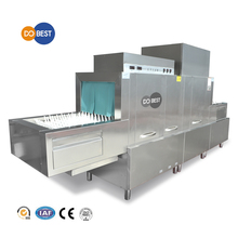 Luxury Hotel Equipment Conveyor Type Dishwasher with Dryer