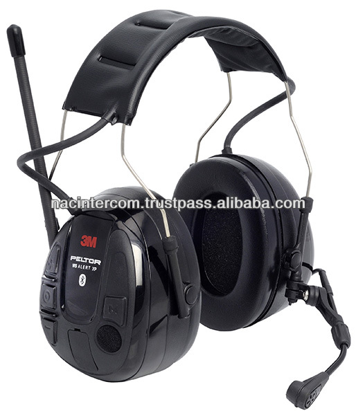 Peltor WS Alert XP bluetooth hearing protector and communication with built-in FM radio