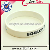 Cheap silicone name rubber band bracelet