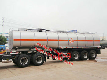 35000L Liquid Asphalt heated bitumen transport / transportation bitumen tank semi trailer